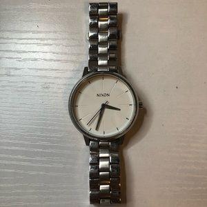 Kensington stainless steel Nixon watch - Silver.